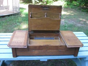 meuble-bureau en chene antique West Island Greater Montréal image 1