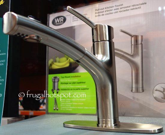 Water Ridge Euro Style Pull Out Kitchen Faucet Costco Frugalhotspot Waterridgekitchenfaucet Pull Out Kitchen Faucet Kitchen Faucet Faucet