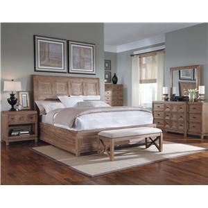 A R T Furniture Inc Ventura Queen Platform Sleigh Bed Wolf Furniture Platform Or Low Profile Bed Pennsylvania Maryland Virginia Home Decor