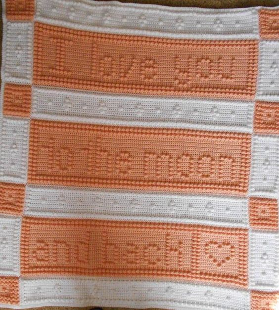 MOON pattern for baby blanket | Crocheting, Patterns and ...