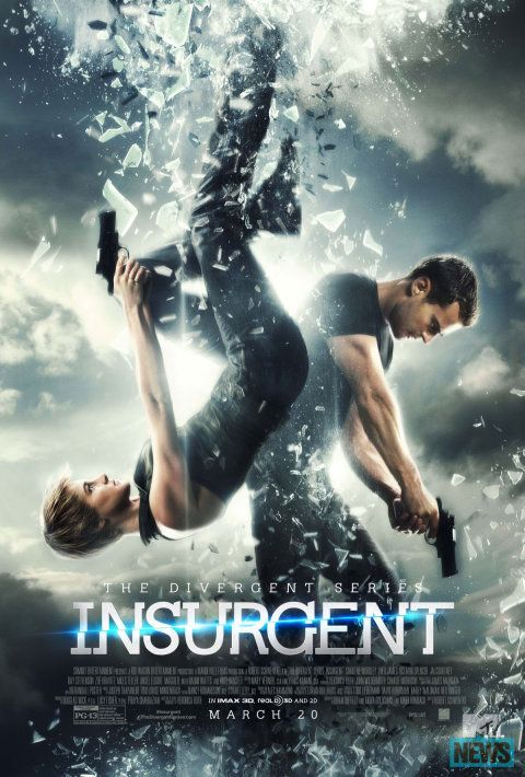 Just got back from Insurgent! ! It was so much better then the first movie!! I seriously started crying <3