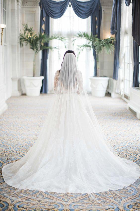 Pin By Kenda Davis 3 Peat On Evermore Wedding Veil Styles Plain Wedding Dress Wedding Dress With Veil