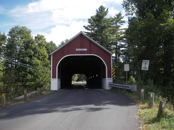 Ashuelot Rail-Trail, New Hampshire, This bridge is part of a loop on roads that include at least 6 bridges.  photo by Fletch6