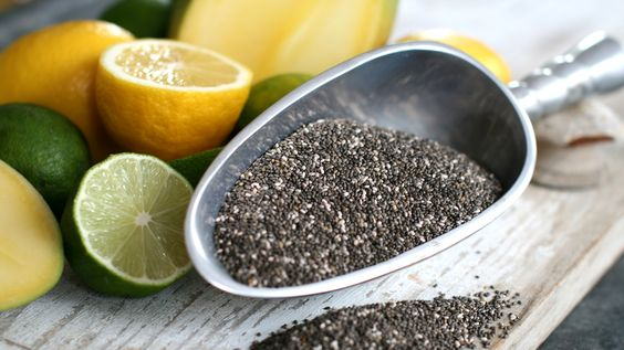 Want fab abs? Add chia seeds to your daily diet: Health Food, Chia Seeds, Seeds Green, Healthy Foods, Healthy Recipes, Skin Food, Oatmeal Recipes