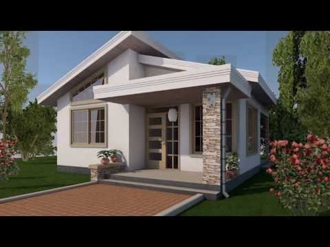 50 Photos Of Low Cost Houses Design For Asia And The Philippines For 2018 Youtube Small Modern House Plans One Bedroom House Simple House Design