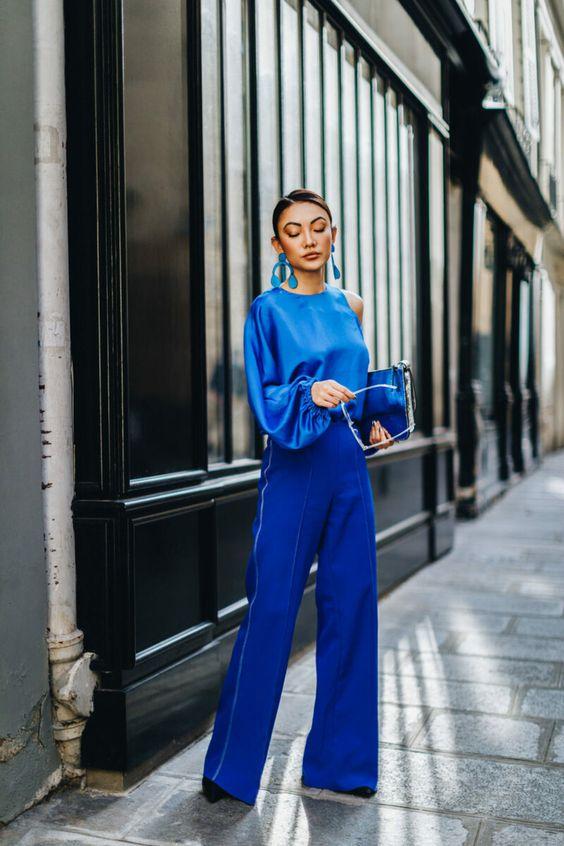 Как носить самый модный цвет 2020 года: 14 образов, которыми хочется любоваться | МОДНЫЙ ГАРДЕРОБ | Яндекс Дзен