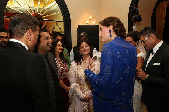 The Duke and Duchess of Cambridge in Mumbai   by UK in India