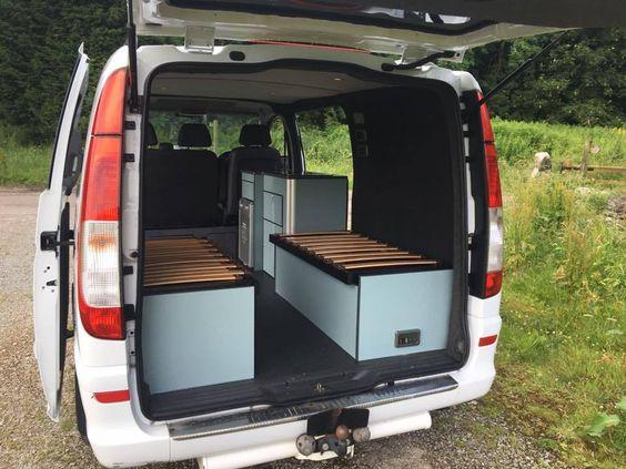 Jacu0027s Mercedes Vito Van interior vans Pinterest Vans, Van - wellmann küchenschränke nachkaufen
