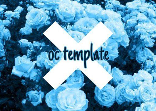 Oc Bio Template Oc Template Templates Roleplay