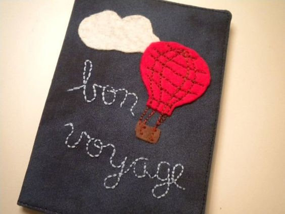 Bon Voyage Passport Cover maybe with a sailboat instead ;)
