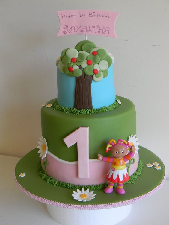 In the night garden cake party ideas pinterest for In the night garden cakes designs