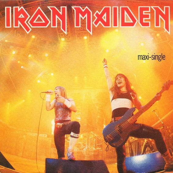 "Iron Maiden ""Running Free"" Live 12"" Maxi Single #VinylRecord #DerekRiggs #HeavyMetal #IronMaiden #Eddie #Vinyl"