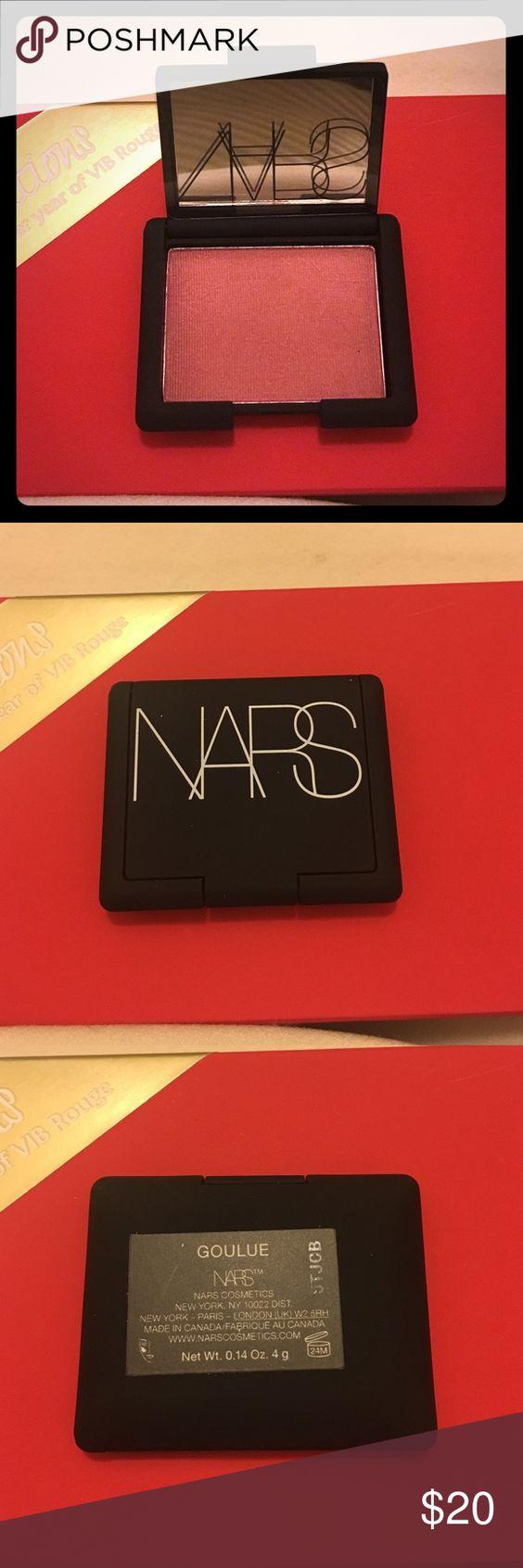 NARS blush Sephora Exclusive - in Goulue Net wt 0.14 oz (4 g) each + 2 45min beauty makeover @ Sephora NARS Makeup Blush