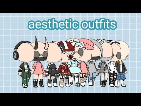 Aesthetic Outfits Gacha Life Youtube With Images Aesthetic