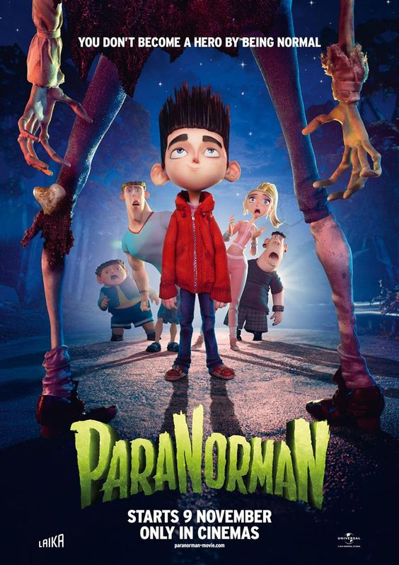 Nov. 9 'ParaNormaN' - Ghoulish animated comedy. You don't become a hero by being normal.
