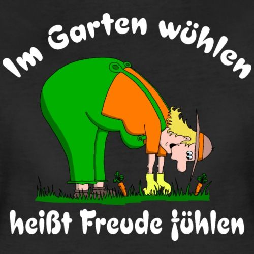 Hobbygartner Liebt Gartenarbeit Hobbygartnerin Lustig Witzig Comic Cartoon Gartner T Shirt Im Garten Wuhlen Lustig Comics Und Cartoons Coole Spruche