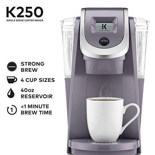 Keurig K250 Single Serve K Cup Pod Coffee Maker With Strength Control Miamisky Single Serve Coffee Makers Single Coffee Maker Keurig K cup and coffee maker combo