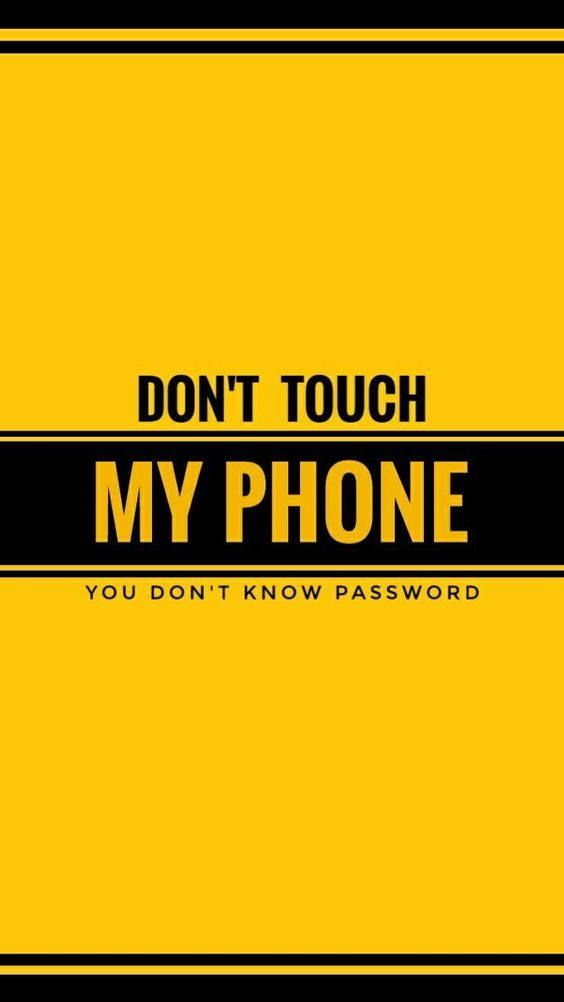 25 Yellow Aesthetic Wallpaper Dont Touch My Phone Wallpapers Phone Wallpaper For Men Phone Wallpaper Images