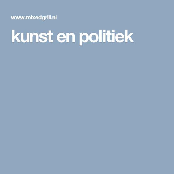 kunst en politiek