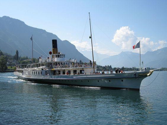 """Bateaux à vapeur - """"La Suisse"""""""