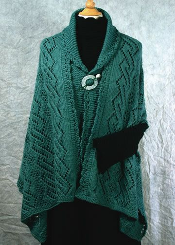 Celtic Lass Stole: A Lace Knitting Pattern Craft Ideas Pinterest Patter...