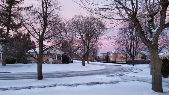 Winter hues #brampton #evening #cold #snow #itsfreezing #waitingforsummer #canada #moments by rush_andes
