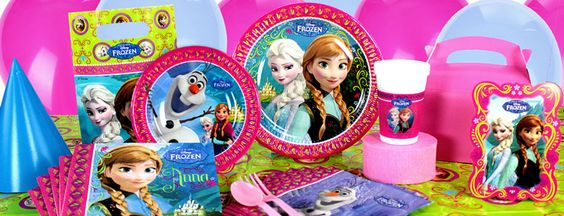 Disney Frozen Party Supplies   Party Delights