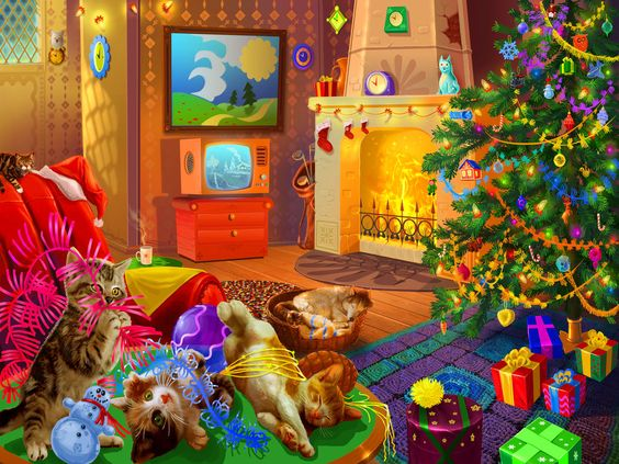 Christmas is Coming jigsaw puzzle in Christmas