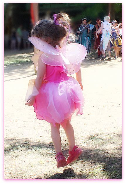 A flying fairy