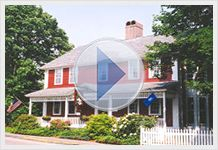 Old Mystic Inn - A picturesque country colonial tucked away in the quiet hamlet of Old Mystic  http://mysticshops.tv/old-mystic-inn/