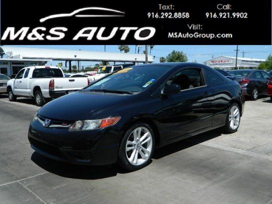 Coupe 2006 Honda Civic Si Coupe With 2 Door In Sacramento Ca 95815 Honda Civic Si Coupe Honda Civic 2006 Honda Civic Si