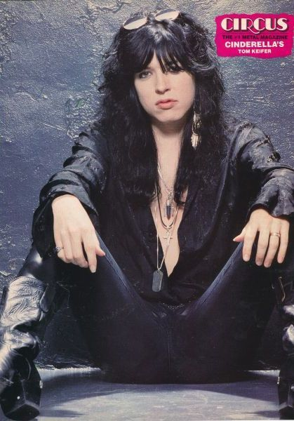 Tom Keifer of Cinderella. My all time favorite 80's band. Ever.