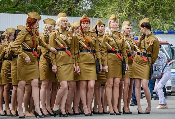 ロシアの女性警官