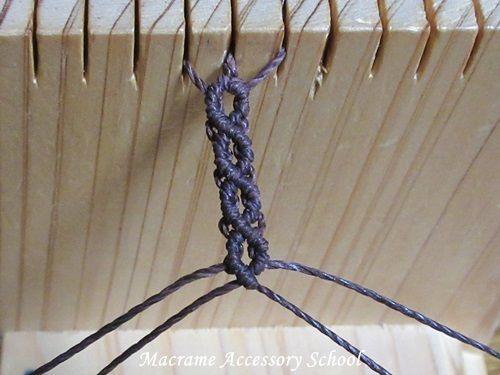 編み マクラメ コードブレスの編み方は?ブレスレットやアンクレットの作り方も