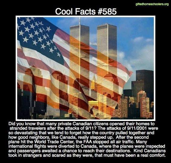 Cool facts #585  http://www.funtrivia.com/en/History/September-11-2001-14278.html