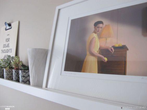 Style scandinave coloré et vintage pour la déco d'un bureau, Raphaëlle Levet - Côté Maison Projets