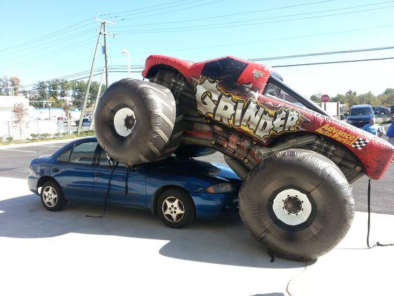www.HomeTowneTire.com  monster truck!