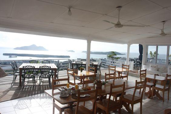 Terrasse ou l'on prend les repas (petit déjeuner et souper)  #holidays #vacances #mahe #seychelles #guesthouse #sansouci