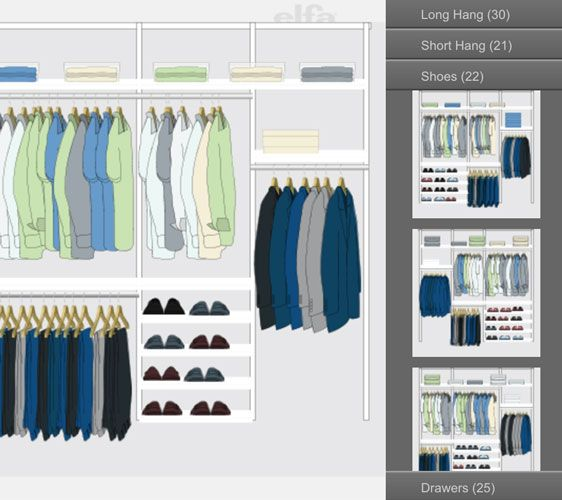 Use Our Interactive Design Tool To Design Your Own Custom Closet