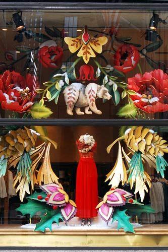 NYC's Best Holiday Windows ~ hooray for Elise Dee & her Anthropologie team! #sweetpaulmakerie