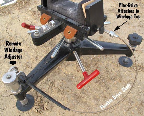 Remote Windage Adjustment drive