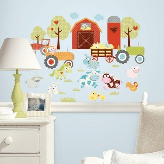 die besten ideen zu tiere wandtattoo tiere vom und kids. Black Bedroom Furniture Sets. Home Design Ideas