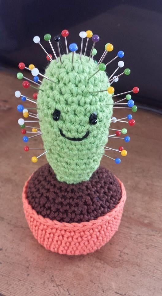 spelden kussen - kaktus