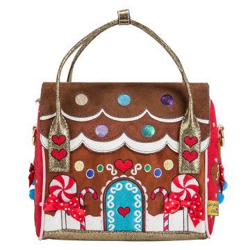 prada saffiano vernice promenade crossbody bag black - House Party by Irregular Choice. Just like a gingerbread house ...