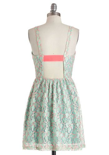 A Fine Outline Dress, #ModCloth