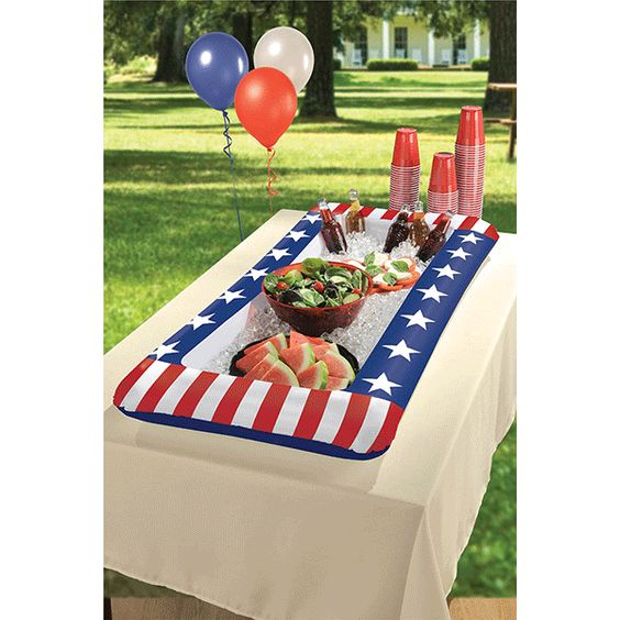 Patriotic Inflatable Cooler 4ft x 2ft