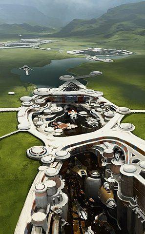 ♂ Futuristic City: