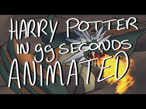 Harry Potter In 99 Seconds Animated Pan Tastique Harry Potter 99 Seconds Potter Potterhead