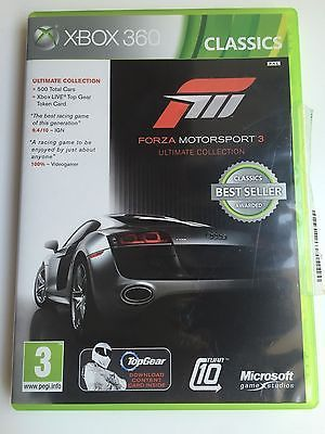 Forza Motorsport 3 -- Ultimate Collection Microsoft Xbox 360 Ecxllent condition https://t.co/vkSowWycVg https://t.co/KWR7SSdrEq