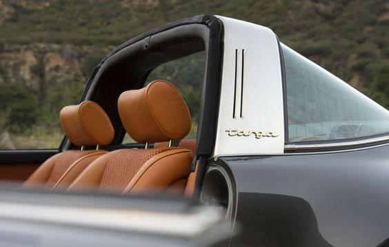 Singer restaurierter Porsche 911 Targa